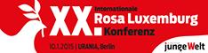 Banner Rosa Luxemburg Konferenz 2015