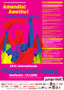 XXIII. Internationale Rosa-Luxemburg-Konferenz